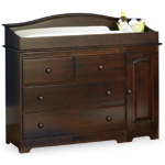 three drawer changing table