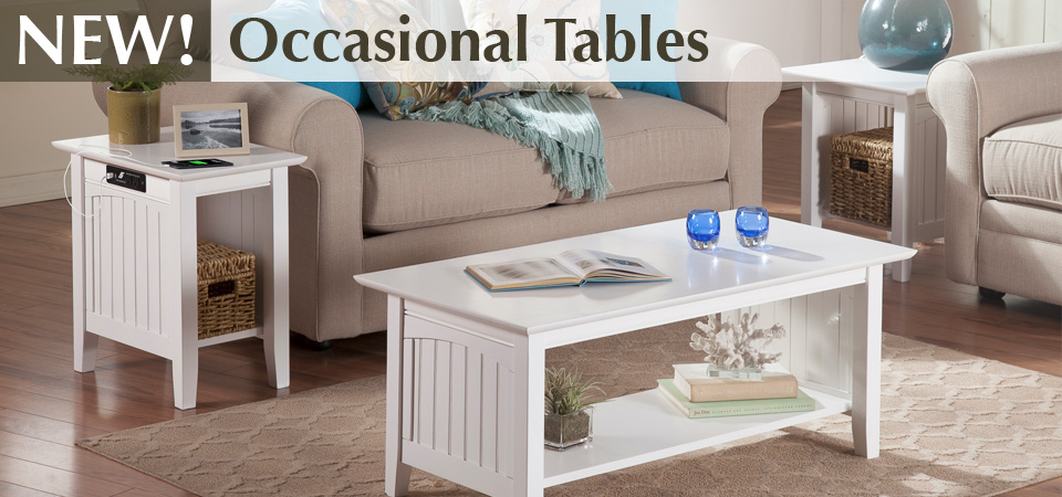 Check out our new Occasional Tables!